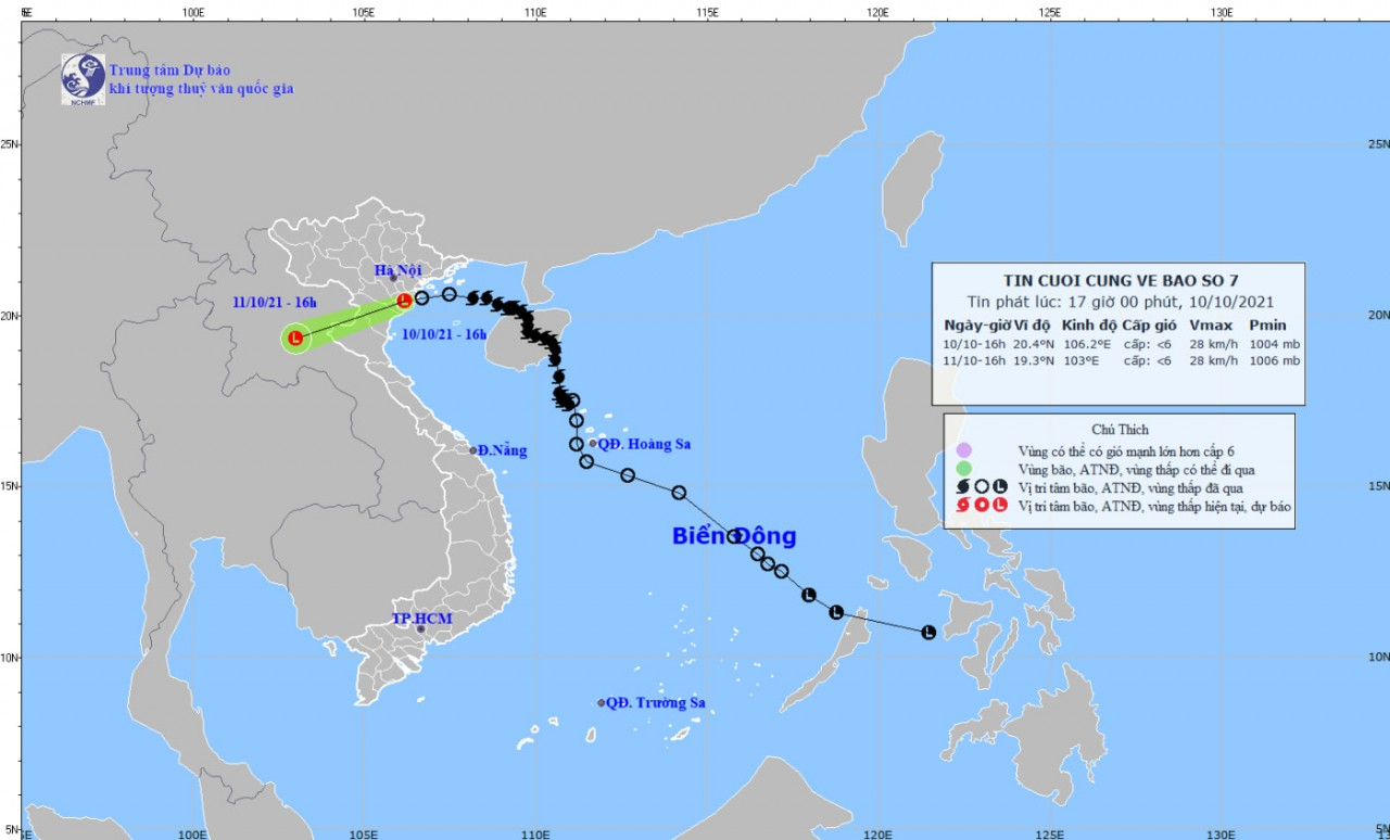 Storm Lionrock Moves Toward North-Central Vietnam, Another Fresh Storm Forecast