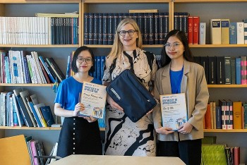 Swedish Ambassador in Vietnam Continues to Participate in Girls Takeover Series