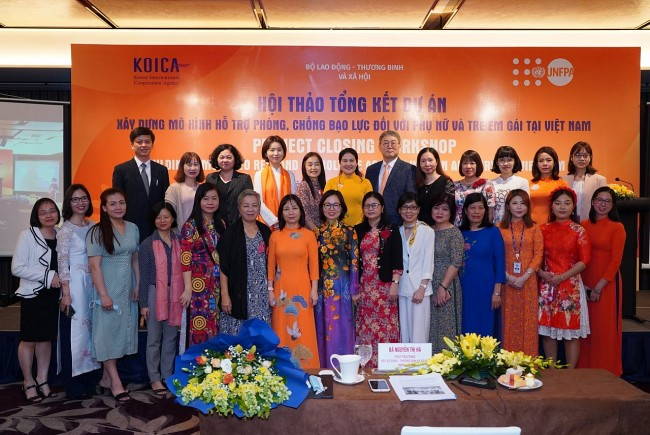 KOICA-funded Project Contributes to Prevent & Respond to Violence against Women and Girls