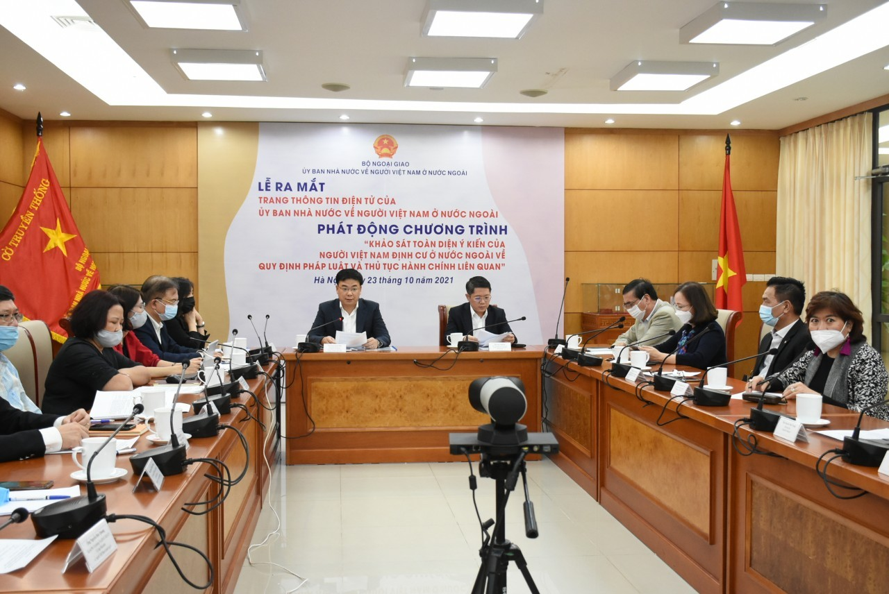 OVs Opinion Survey as Input to Relevant Laws and Administrative Procedures Reform
