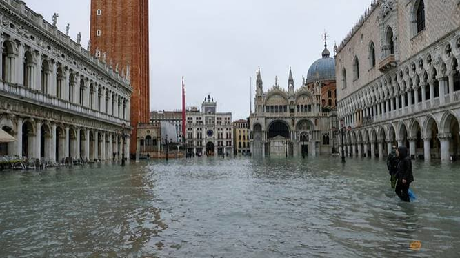 climate change corruption behind venice floods