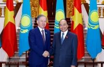 pm receives kazakhstans lower house leader