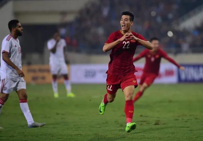 Tien Linh scores as Vietnam edge past UAE