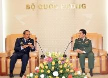 vietnam cambodia hold land border search rescue drill