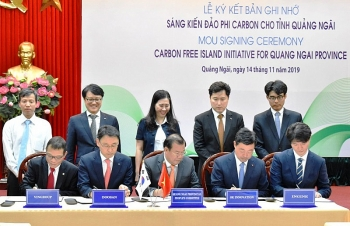 Initiative to help Quang Ngai build carbon-free islands