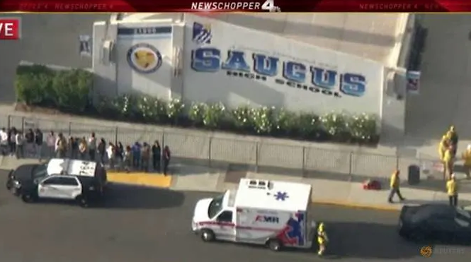two killed in uss california school shooting teenage boy in custody
