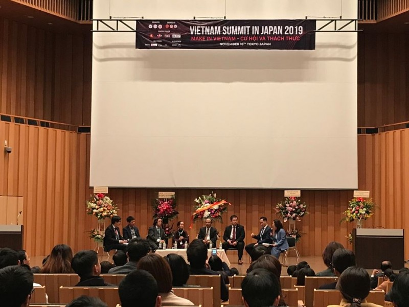 nearly 1000 vietnamese intellectuals in japan discuss make in vietnam policy