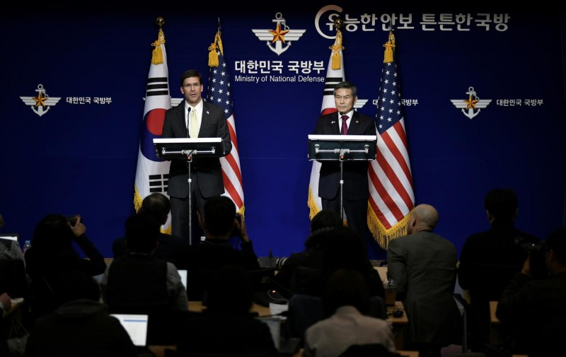 us denies postponed military drills a concession to north korea
