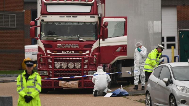 essex lorry deaths another man from northern ireland arrested