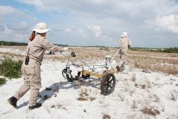 Mechanical demining systems optimized to be cost-effective