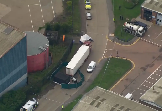 39 UK lorry victims: Man charged with human trafficking offences