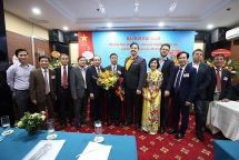 mr dang vu nhat thang becomes president of hanois vietnam hungary friendship association