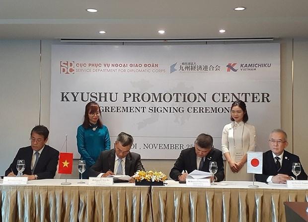 kyushu promotion center to be set up in hanoi
