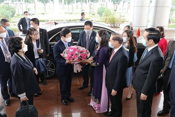 roks na speaker pledges to encourage korean firms to invest in vietnams ninh binh