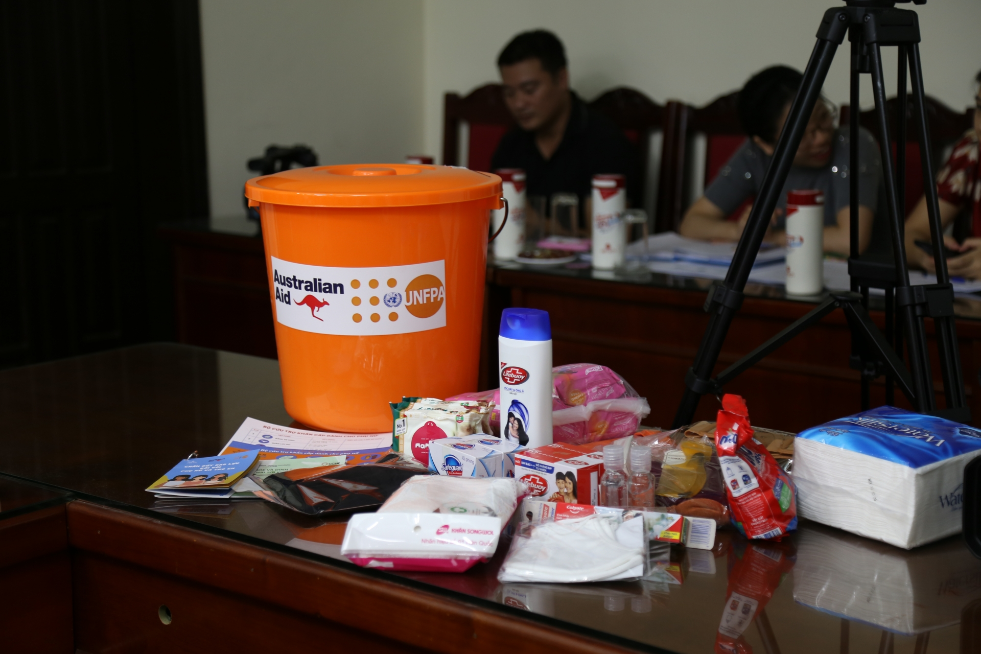 3,700 dignity kits presented to women at risk of violence amid COVID 19