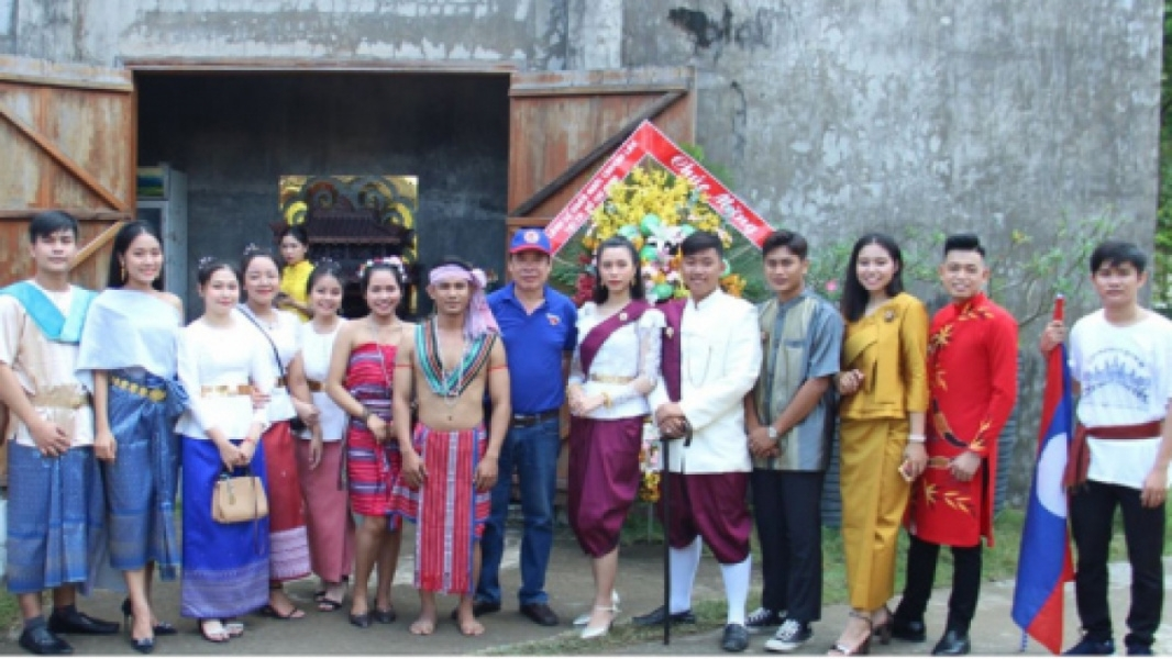 300 vietnamese, laotian, and cambodian students boosts ties in cultural exchange