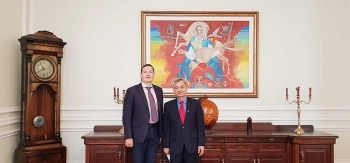 ukrainian deputy fm hails remarkable progress of bilateral ties with vietnam