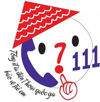zalo account of national hotline 111 on child protection and human trafficking prevention debuts