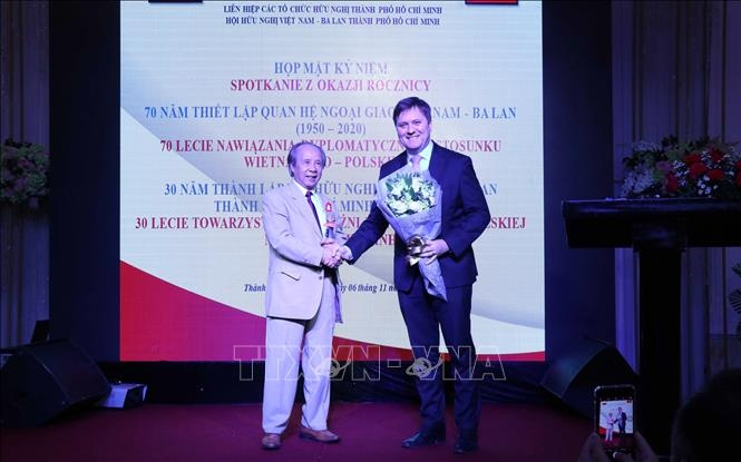 30th founding anniversary of hcm city's vietnam poland friendship association marked