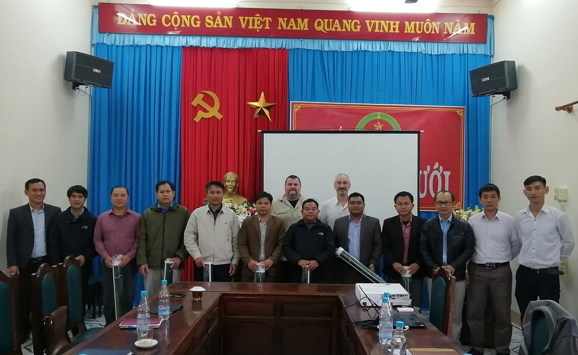 Mapping risk of uxp at a luoi district, thua thien hue province