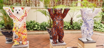 buddy bear design highlights key topics of vietnam and germanys relations