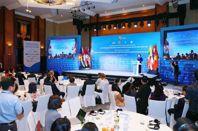 Vietnam calls for solidarity among asean businesswomen