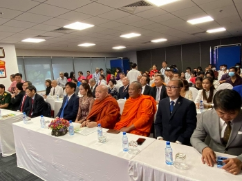 cambodias 67th independence day marked in ho chi minh city