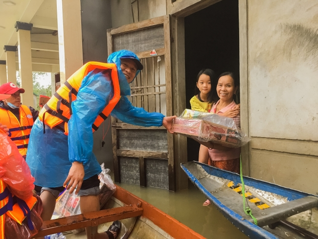 World Vision Vietnam supports Vietnam's disaster response