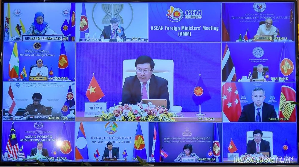 ASEAN countries call for full and serious implementation of DOC