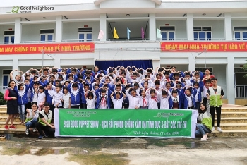 puppet show for child abuse prevention in thanh hoa province