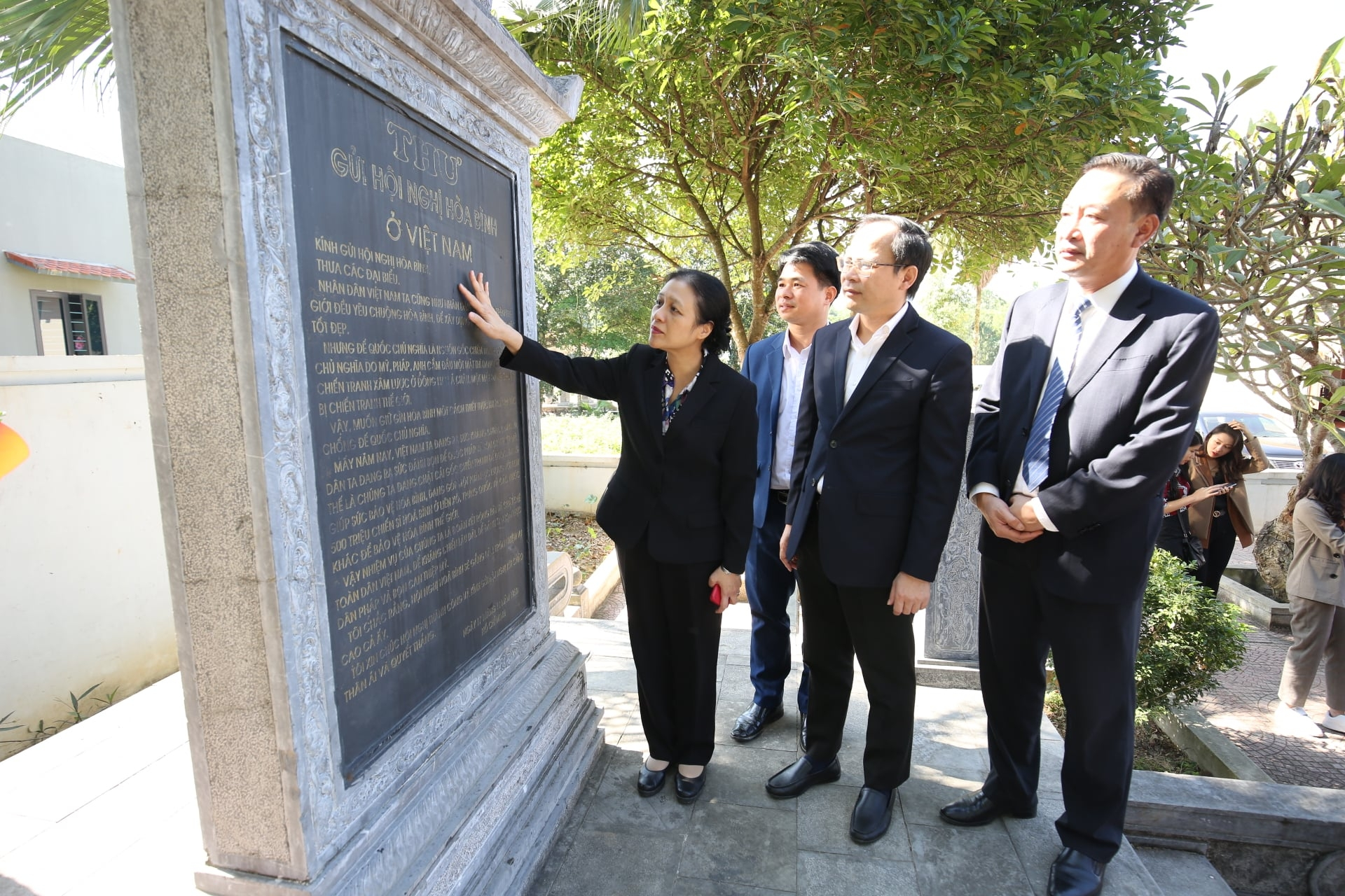 VUFO delegation visits its founding place celebrating 70 years of service