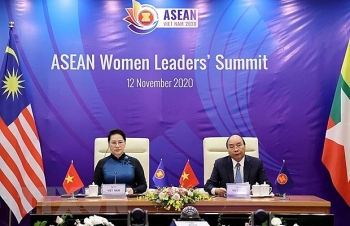 asean women leaders summit encourages women to further uphold their role