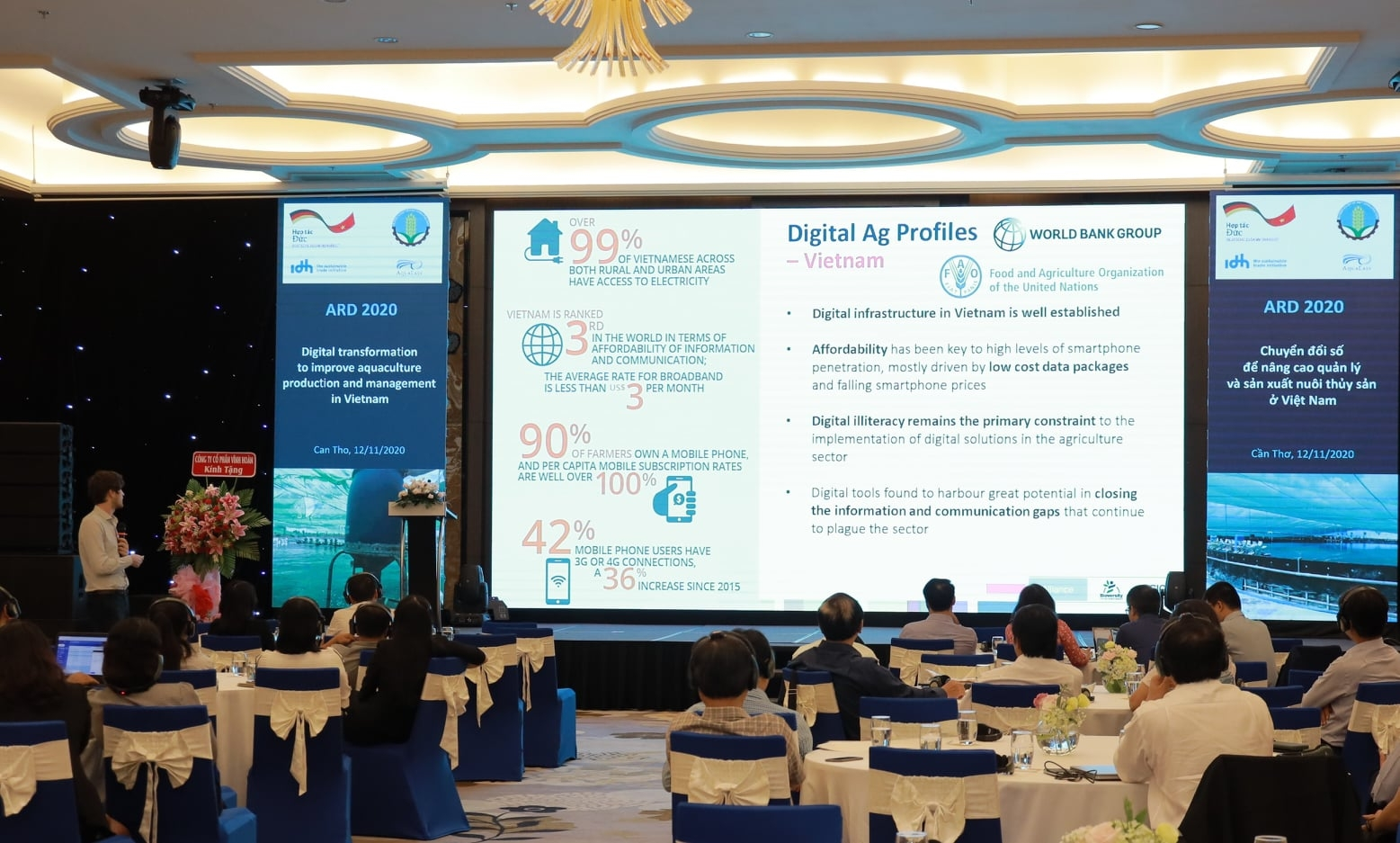 Improving Vietnam's aquaculture production and management in the digital age
