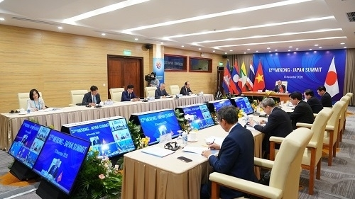 Leaders calls for strengthening cooperation and increasing connectivity at Mekong Japan Summit