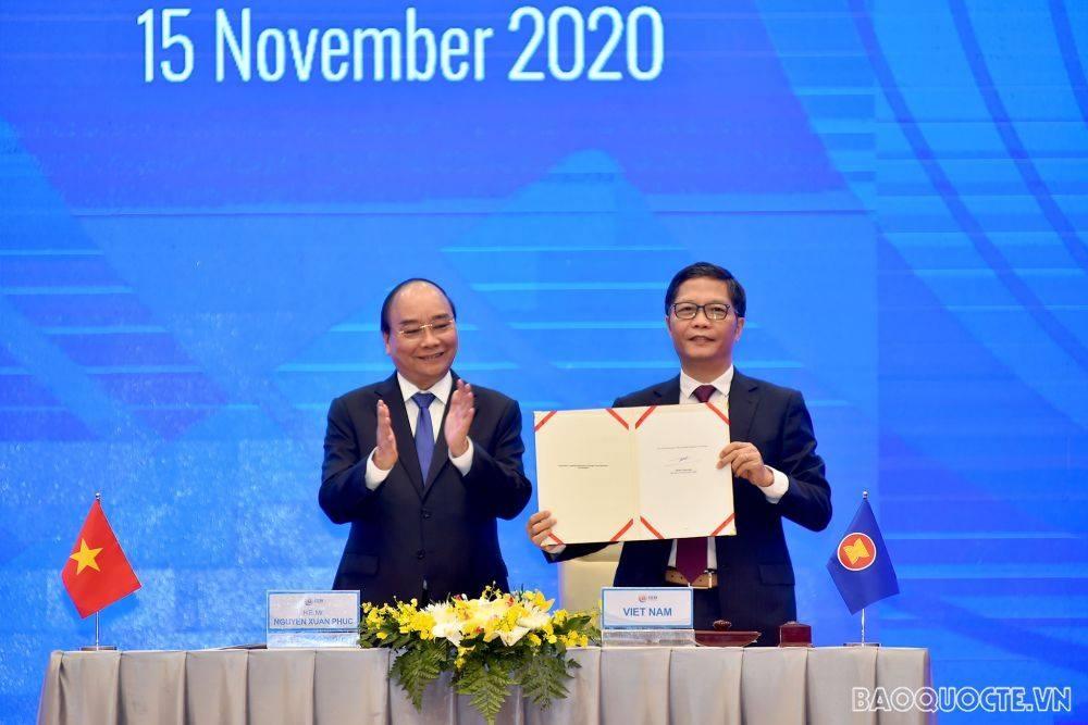 15 countries signed regional comprehensive economic partnership (rcep) agreement