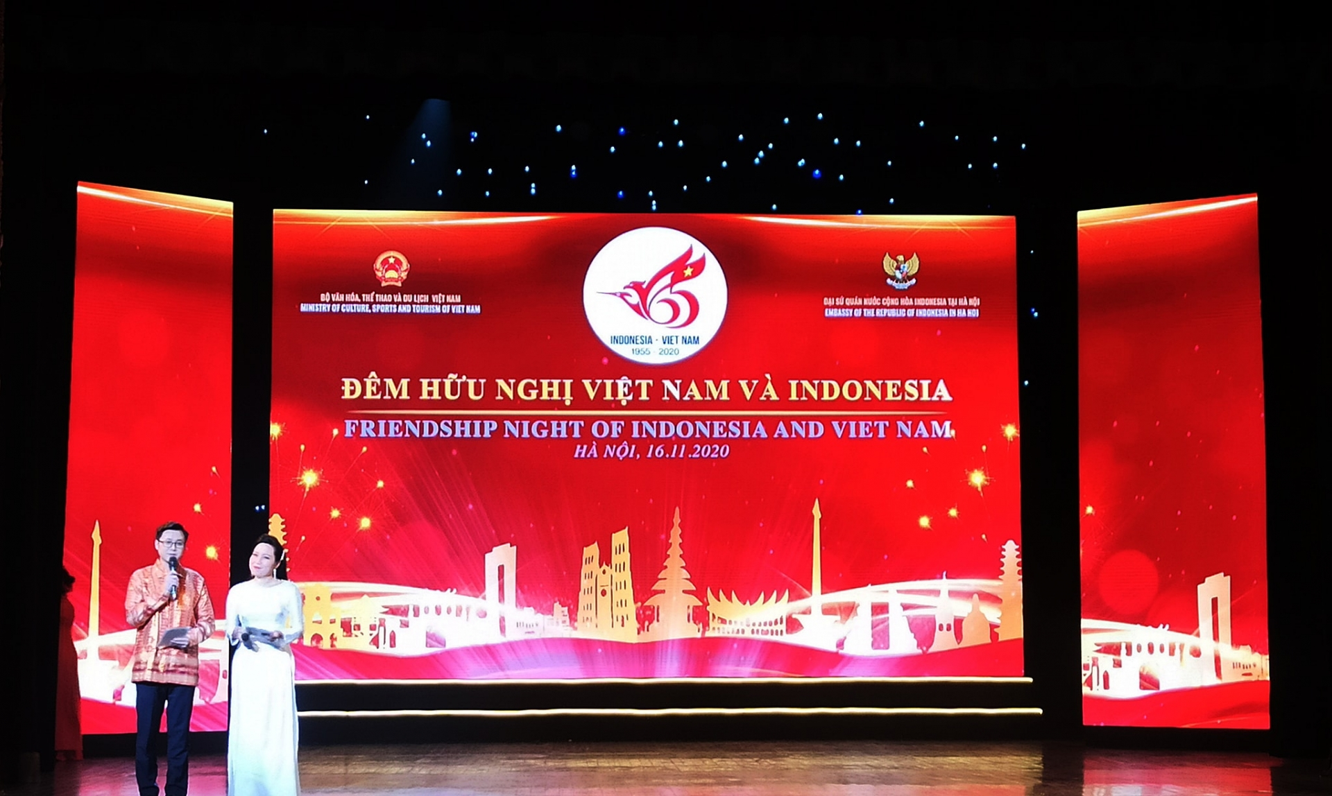 Friendship night of Vietnam and Indonesia marked 65 years of ties