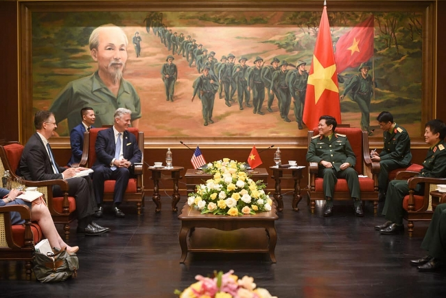 Vietnam-US defence ties positively contributed to bilateral comprehensive partnership
