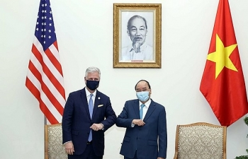 trade cooperation at centre and main driver of vietnam us ties