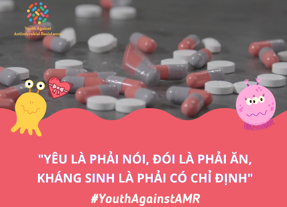 Vietnamese youths raise awareness on antimicrobial resistance