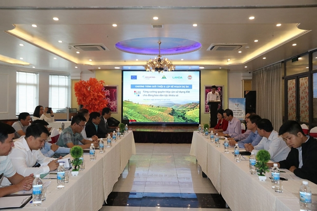 Strengthening land rights of ethnic minorities in northwest mountainous province