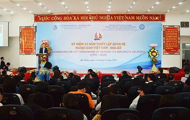 Marking the 25th anniversary of Vietnam-US diplomatic ties in Da Nang