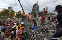 cambodia supports victims of pagodas building collapses
