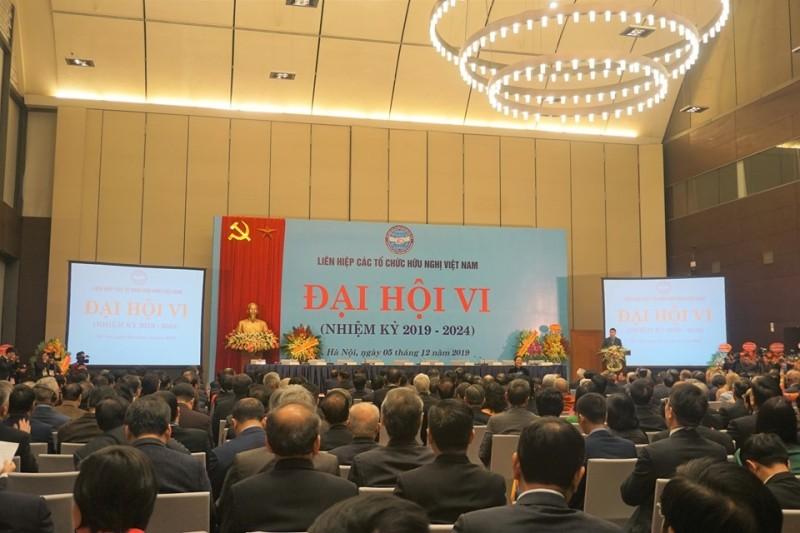 sixth national congress of vietnam union of friendship organizations kicks off