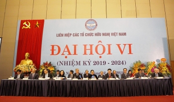 Sixth National Congress of Vietnam Union of Friendship Organizations kicks off
