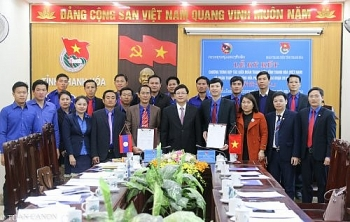 Thanh Hoa, Houaphanh province of Laos promote youth cooperation