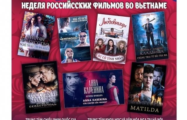 Russian Film Week backs in Hanoi