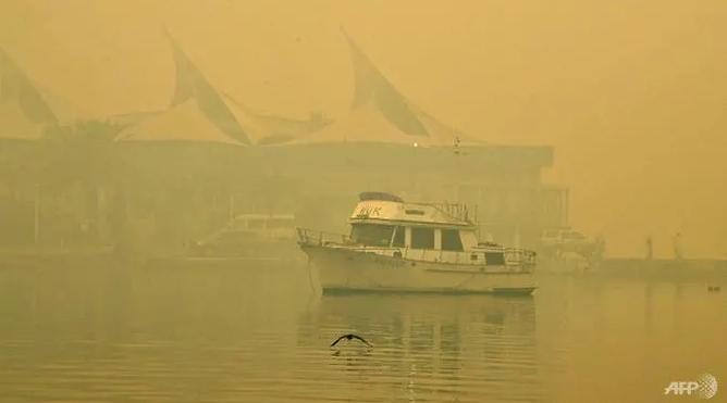 Smoke, haze from deadly bushfires blanket eastern Australia