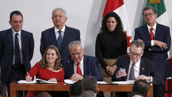 US, Canada and Mexico sign agreement to replace NAFTA