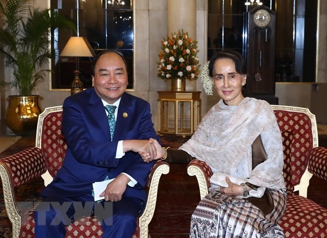 prime minister nguyen xuan phuc to officially visit myanmar