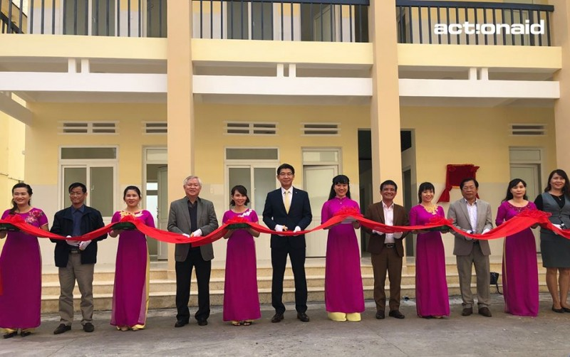 aav inaugurates a new pediatric obstetric clinic in krong bong dak lak